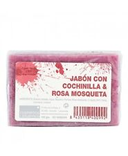 ROSE HIP AND COCHINEAL HANDMADE SOAP 100g