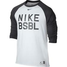 14fbfa9118c8d4 NWT Nike Men s Legend 3 4 Sleeve Raglan Baseball T‑Shirt 813049-100