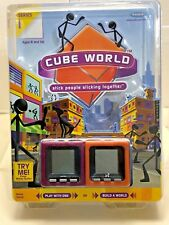 Cube World Series 1 Electronic Stick People Toy 75039 Factory Radica
