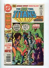 New Teen Titans 16 Nm 1st App. Captain Carrot