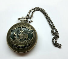 NEW OLD STOCK Molnija Russia pocket watch mechanical movement Discovery day