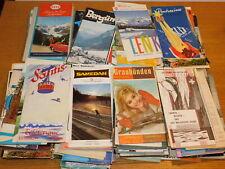 vintage LOT ancien brochures touristiques SCHWEIZ vacance SUISSE tourisme HOTEL