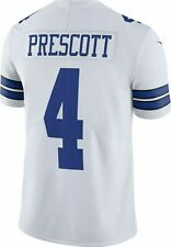 DAK Prescott 2017 NFL Nike Dallas Cowboys White Vapor Untouchable Limited Jersey