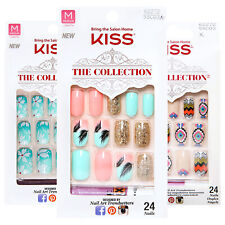 KISS Nail Kit - Salon Style (CHOOSE PACK & STYLE)