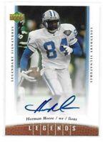 2006 Upper Deck Legends Herman Moore Legendary Signatures Autograph Card