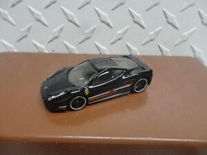Loose Hot Wheels Black Ferrari 458 Italia