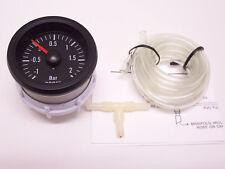 Rsr presión de visualización set 52mm look retro Boost gauge 16v g60 g40 vr6 turbo s4 R