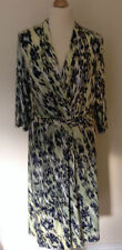 Per Una V-Neck Animal Print 3/4 Sleeve Dresses for Women