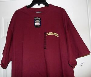 FLORIDA STATE SEMINOLE FOOTBALL NCAA Men's Sports XXL T-Shirt NEW WITH TAGS
