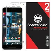 (2-PACK) For Google Pixel 2 Screen Protector Spectre Shield USA Made Lifetime