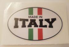 #333 Made in Italy 9,5x6 cm! AUFKLEBER AUTOCOLLANT STICKER FIAT FERRARI MASERATI