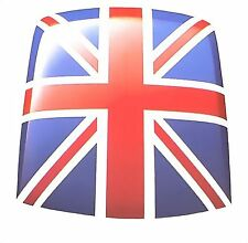 Classic Mini New Rover Union Jack Pre-Cut Vinyl Pop Art Roof Decal
