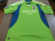 Adidas Seattle Sounders MLS Soccer Futbol Jersey Mens XL Adult
