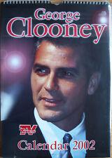 George Clooney Kalender 2002 Spiralbindung 30 x 42 cm 12 Poster zum Rautrennen
