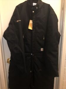 Carhartt Men's Yukon Extremes Arctic Quilt Lined Coverall Black X06-BLK 46 Tall