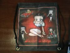 Betty boop pinup girl  custom print beach bag novelty back pack man cave Biker