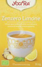 Yogi Tea Zenzero Limone - 17 Bustine Filtro