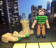 Marvel Minimates SHAPE-SHIFTER SANDMAN Deadly Foes of Spider-Man Box Set Loose