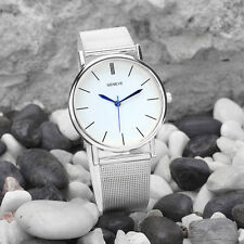 Hot Geneve Women's Watch Fashion Watch Stainless Steel Band Quartz Wrist Watches
