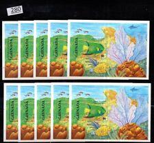# 10X GRENADA - MNH - FISH - MARINE LIFE
