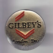 RARE PINS PIN'S ..  ALCOOL VIN WINE GIN GILBEY'S LONDON DRY LABEL EPOXY ~DU