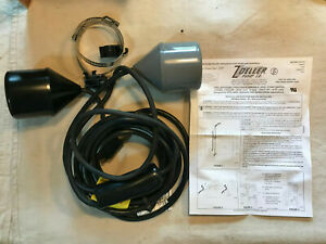 Zoeller 10-0230 Double Piggyback Variable Level Float Switch 230V/2HP 15 Ft.Cord