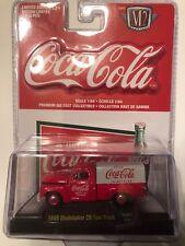 1:64 Sacale M2 Machines COCA~COLA 1949 Studebaker 2R Truck RW01 18-05
