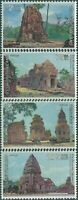 Thailand 1980 SG1033-1036 International Correspondence Week set MNH