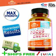1X Focus Energy Boost Memory, Focus, Clarity, Hgh Booster Best Price Women & Men