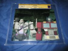 TRANSFORMERS CGC SS Signed Animated TV Photo/Still ~ FRANK WELKER / MEGATRON