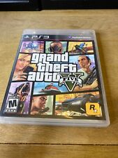 Sony Playstation 3 PS3 Grand Theft Auto V 5 GTA V Video Game Rockstar Tested