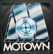 """7"""" SINGLE VINILO. no me dejan así por Thelma Houston. 1976. 1060 TMG."""