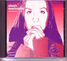 ALANIS MORISSETTE Hands Clean EDIT PROMO CD Single w/ PRINTED LYRICS MINT