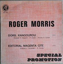 ROGER MORRIS    45T 2 TITRES