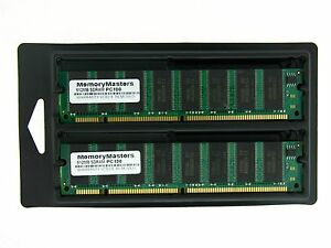 1GB  2X512MB MEMORY 64X64 168PIN PC100 8NS 3.3V NON ECC SDRAM DIMM