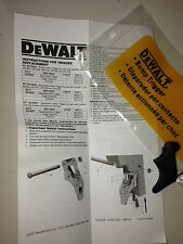 DEWALT BUMP TRIGGER REPLACEMENT SUIT FRAMING FINISH NAILERS nail guns