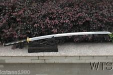 "47"" Hand Forged Two Handed Japanese Sword Kin'iro NoDachi Spring Steel Sword"