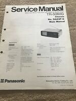 Panasonic TR -5060G  service manual  For Television With Radio & Digital Clock