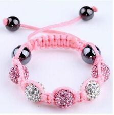 hot Sale  beautiful baby children 10mm shamballa bracelets  Christmas gifts 205
