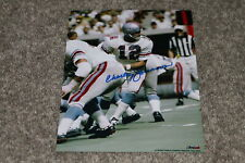 CHARLEY JOHNSON AUTOGRAPHED OILERS 8X10 PHOTO