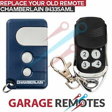 Brand New Chamberlain Garage Door Remote 8433AML Keyring Aftermarket Transmitter