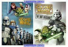 Star Wars The Clone Wars Complete DVD Series Seasons 1 2 3 4 5 & 6 New Set 1-6