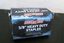 "Channel Lock 32691 3/8"" Heavy Duty Hammer Tacker Staples, Free Ship"