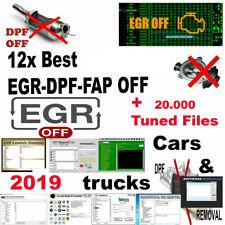 MEGA SOFTWARE Pack 40+ Programs Delete Remove DPF FAP EGR OFF ECU VIRGIN OBD2