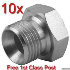 10 x 1/4 BSP HYDRAULIC MALE CONED BLANKING PLUG WITH 60° CONE FOR PUMP VALVE RAM