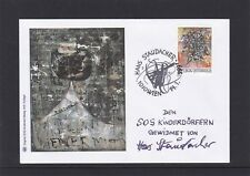 SOS Kinderdorf Kunst Maler Hans Staudacher 1999