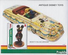 Sierra Sierraleoonse leone (compleet Editie) postfris MNH 1995 Oud Walt-Disney-S