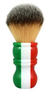 RAZOROCK Italian Barber 24 Plissoft Shaving Brush Edelharz-Griff & Synthetic
