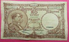 Beau Billet  de 20   FRANCS  BELGE  du  09 / 04 / 1947