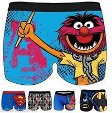 Mens Licensed Superhero Character Boxer Shorts Trunks Novelty Underwear S-XL